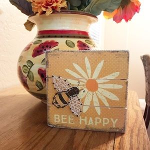 """""""Bee Happy"""" Picture"""